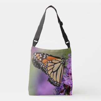 Monarch butterfly profile tote bag