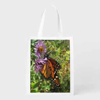 Monarch Butterfly Reusable Bag Reusable Grocery Bag
