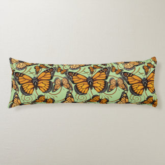 Monarch Butterfly Reversible Body Cushion