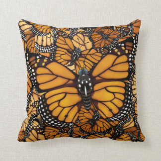 Monarch Butterfly Reversible Cushion