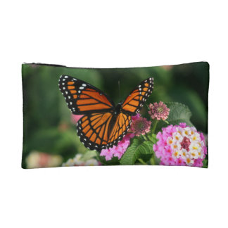 Monarch Butterfly Small Cosmetic Bag