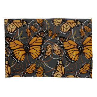 Monarch Butterfly Swirl Pillowcase