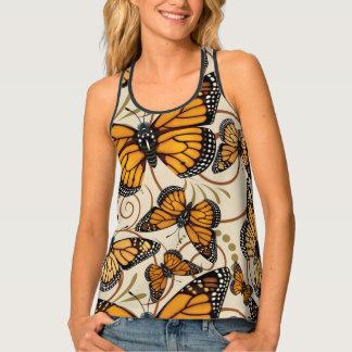 Monarch Butterfly Swirl Singlet