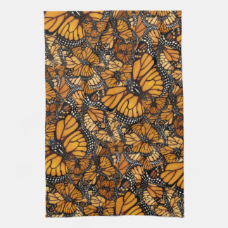 Monarch Butterfly Tea Towel