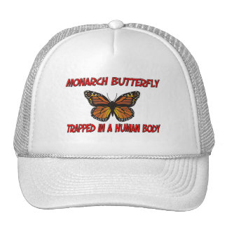 Monarch Butterfly trapped in a human body Hat