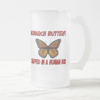 Monarch Butterfly trapped in a human body Mugs