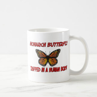 Monarch Butterfly trapped in a human body Coffee Mug