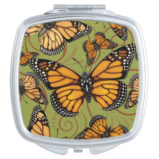 Monarch Butterfly Vanity Mirror
