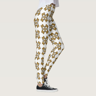 Monarch  Butterfly Wheel Leggings