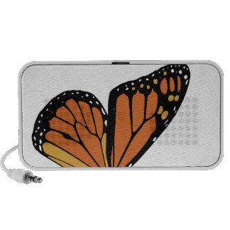 monarch butterfly wing speaker system