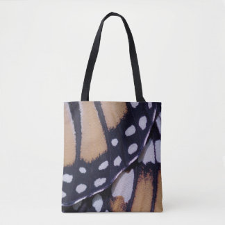 Monarch Butterfly Wing Tote Bag
