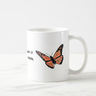 Monarch Butterfly with Milkweed Coffee Mug