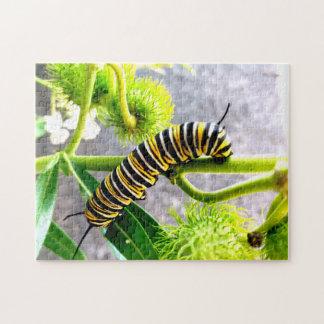 Monarch Caterpillar Jigsaw Puzzle