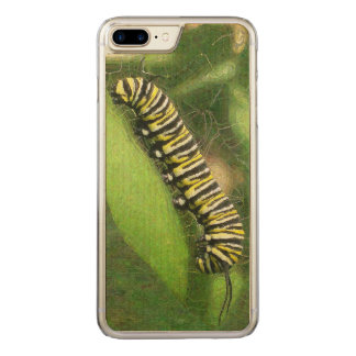 Monarch Caterpillar - Sunset Relaxing Carved iPhone 8 Plus/7 Plus Case