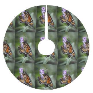 Monarch Danaus Plexippus Brushed Polyester Tree Skirt