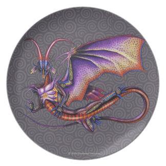 Monarch Dragon Plate