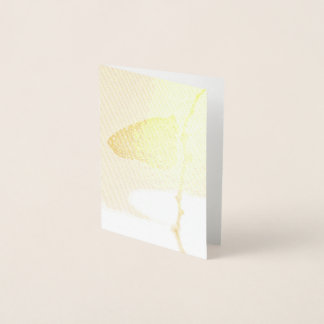 Monarch in the Morning Light Foil Card