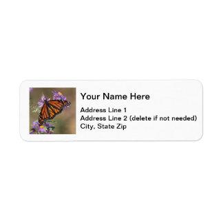 Monarch Return Address Label