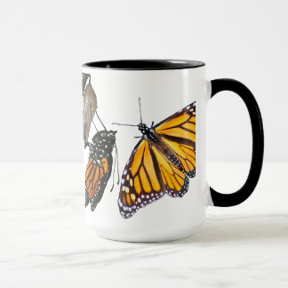 MONARCH LIFE CYCLE MUG
