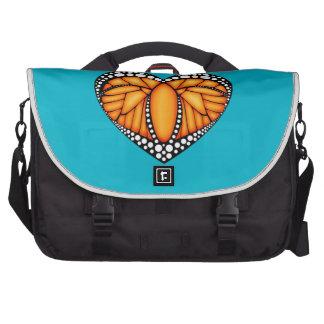 Monarch Love Laptop Bags