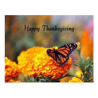 Monarch Marigold Thanksgiving Postcards