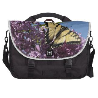 Monarch on Butterfly Bush Commuter Bags