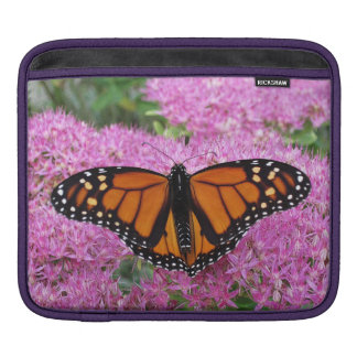 Monarch on Pink Sleeves For iPads