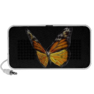 Monarch Orange Butterfly Flying Insect Notebook Speakers