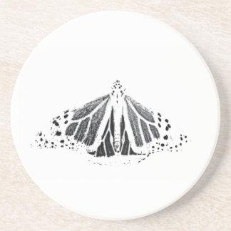 Monarch outline coaster