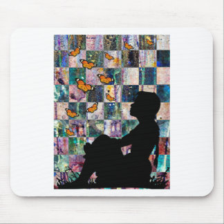 MONARCH TIME MOUSE PAD