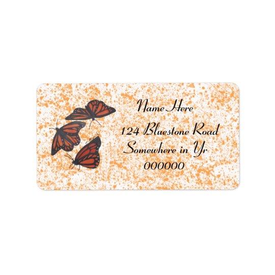 Monarch Trio Labels