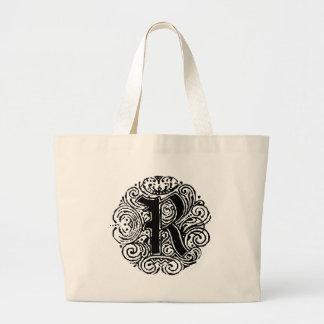 """Monarchia """"R"""" Large Tote Bag"""