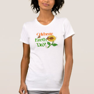Monarchs & Sunflow Celebrate Earth Day! - T-shirt