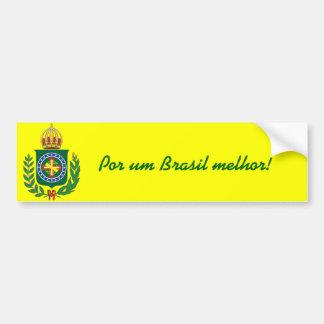 Monarchy in Action Bumper Sticker