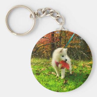 MONA'S LEAF KEY RING