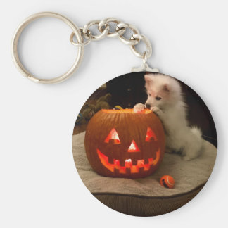MONA'S PUMPKIN KEY RING