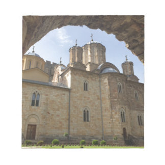 Monastery in Serbia Notepad