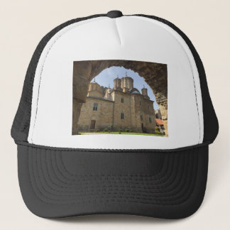 Monastery in Serbia Trucker Hat