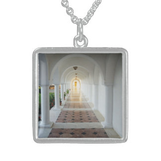Monastiq tranquillity sterling silver necklace