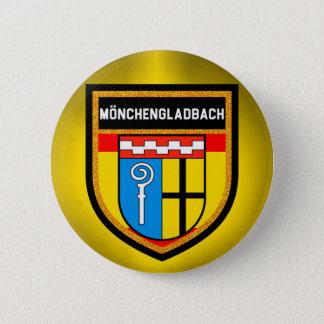 Mönchengladbach Flag 6 Cm Round Badge