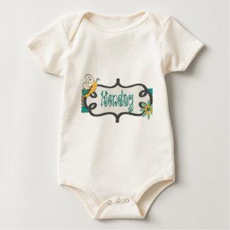 Monday Baby Bodysuit
