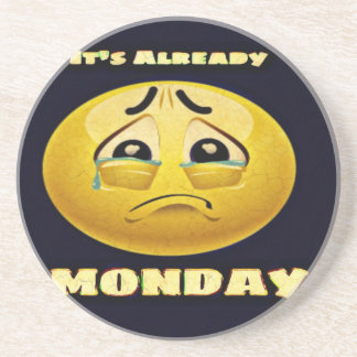 Monday Blues Coaster