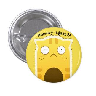 Monday Cat button