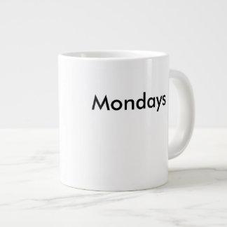 Monday Coffee Jumbo Mug