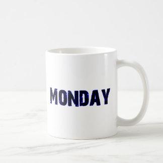 Monday Day of the Week Merchandise Coffee Mugs