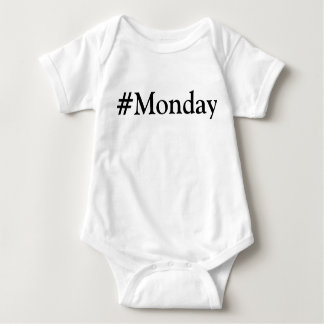 #Monday Day of the Week T-shirts