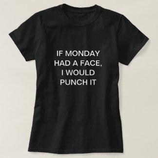 Monday Face T-Shirt