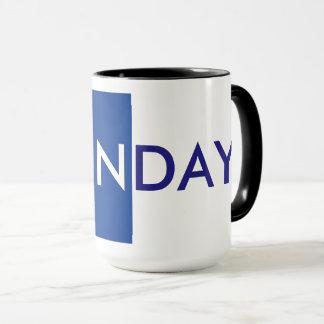 MONDAY MUG, COFFEE TIME By ZAZZ_IT Mug