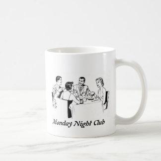 Monday Night Club Basic White Mug