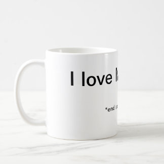 Monday Sarcasm Basic White Mug